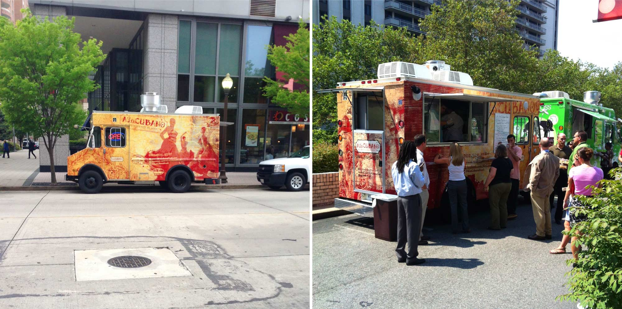 Food Truck Wrap Design in DC