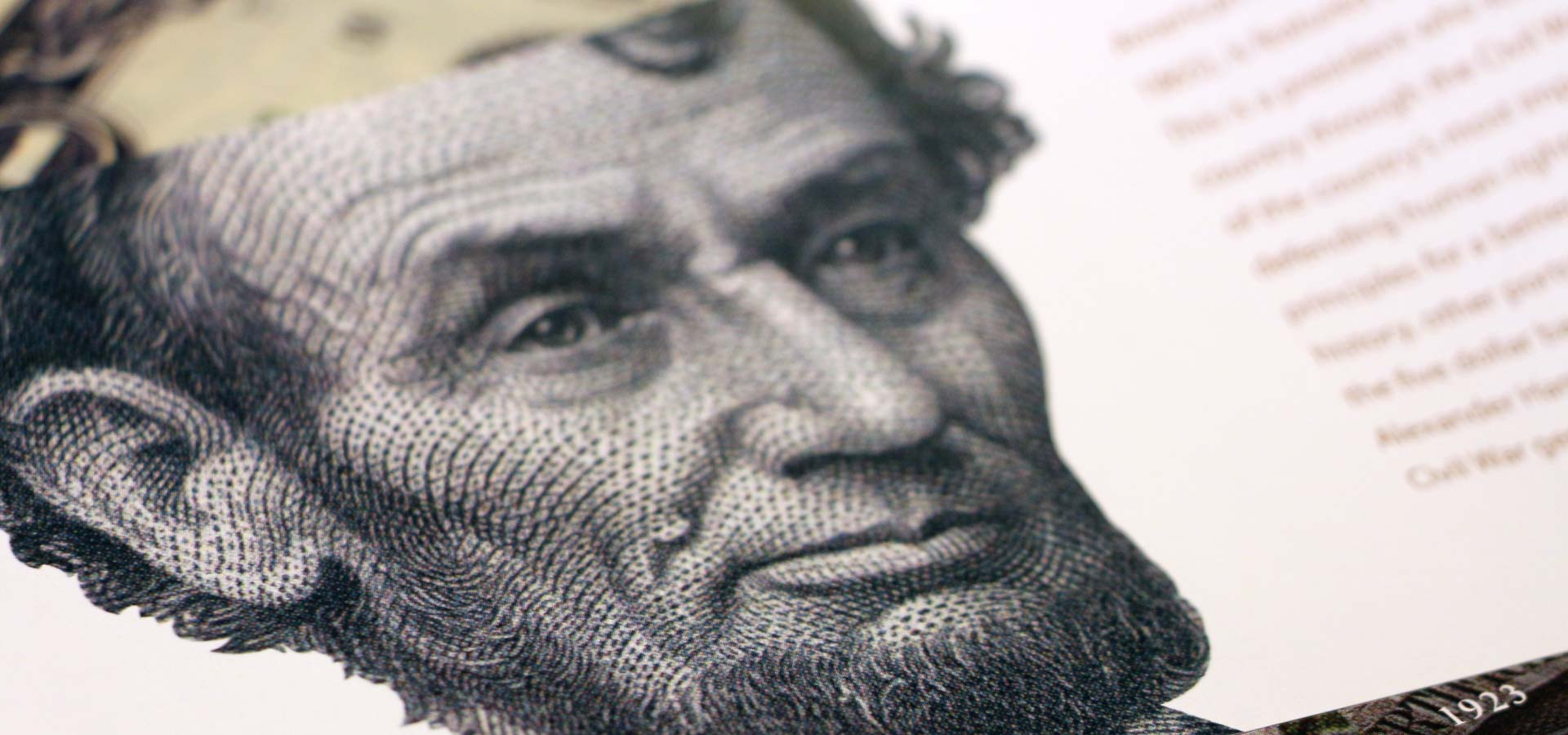 Lincoln portraits in currency