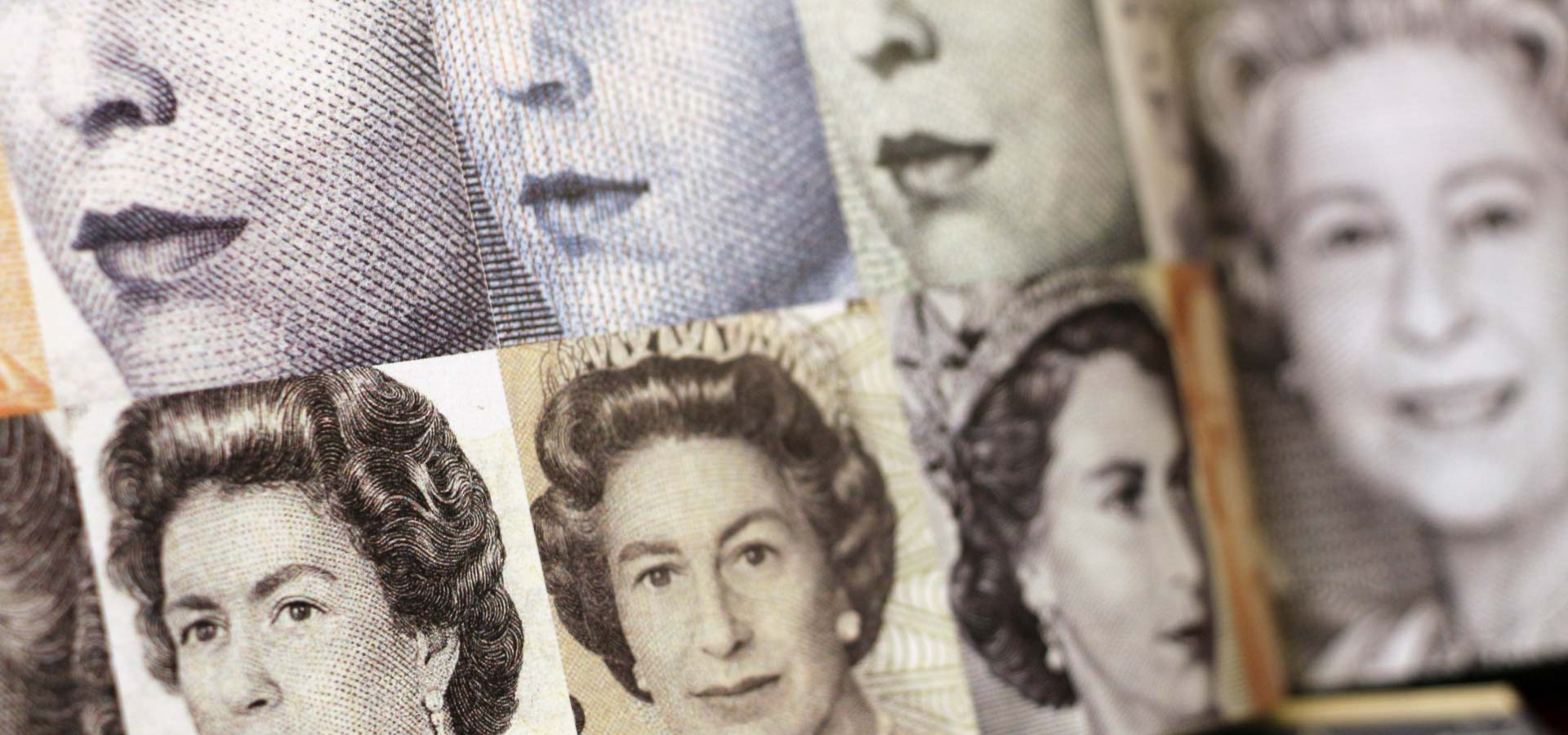 Queen Elizabeth II portraits in currency